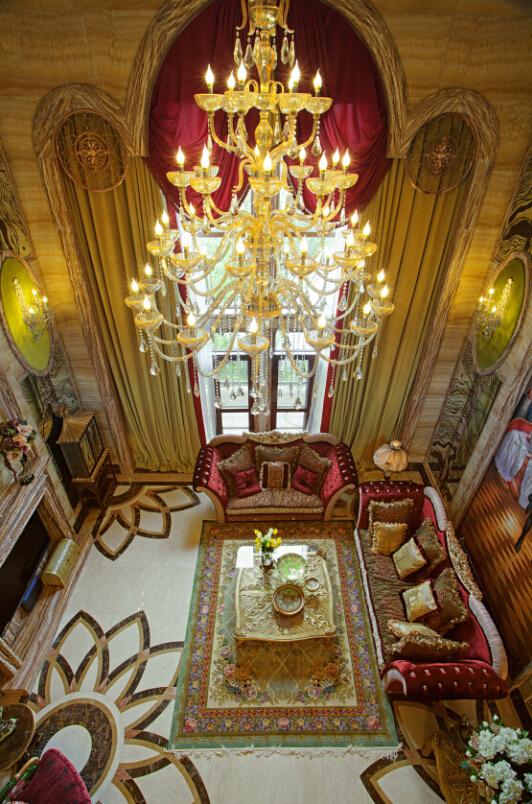 欧式宫廷风  古典欧式风格是一种追求华丽