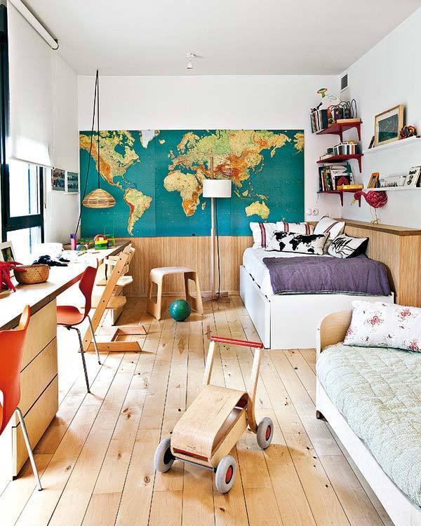 简约迷人宜家风恬静二居室装修效果图