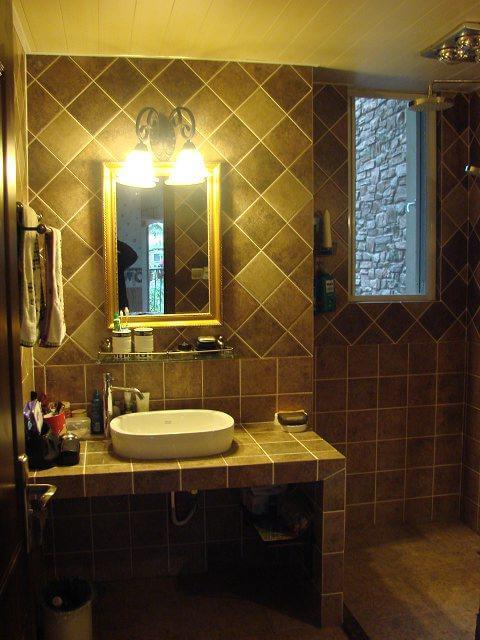 美式乡村风格四居室装修效果图
