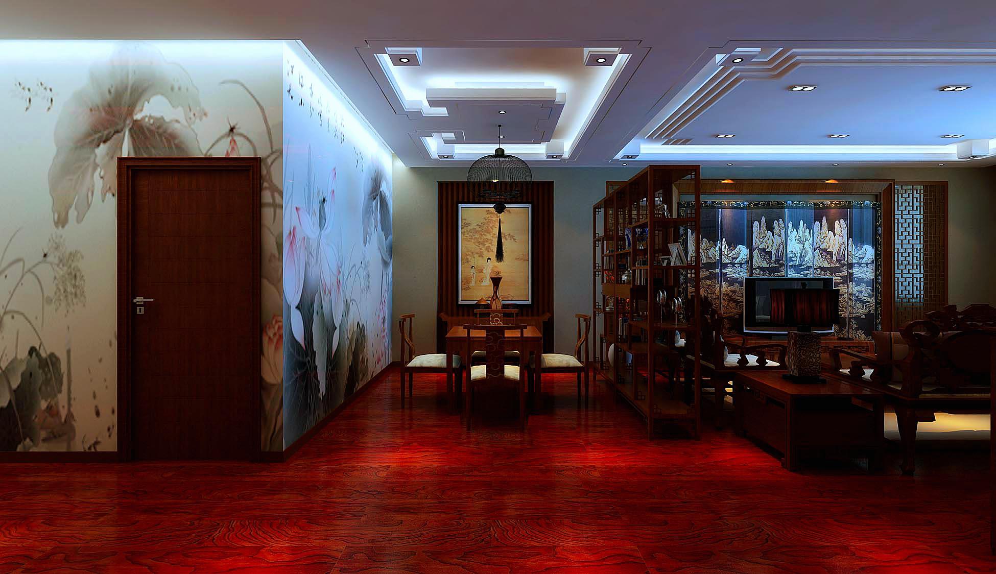 中式办公室图片