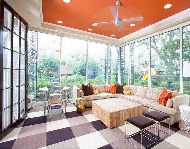 色彩清新的三居室