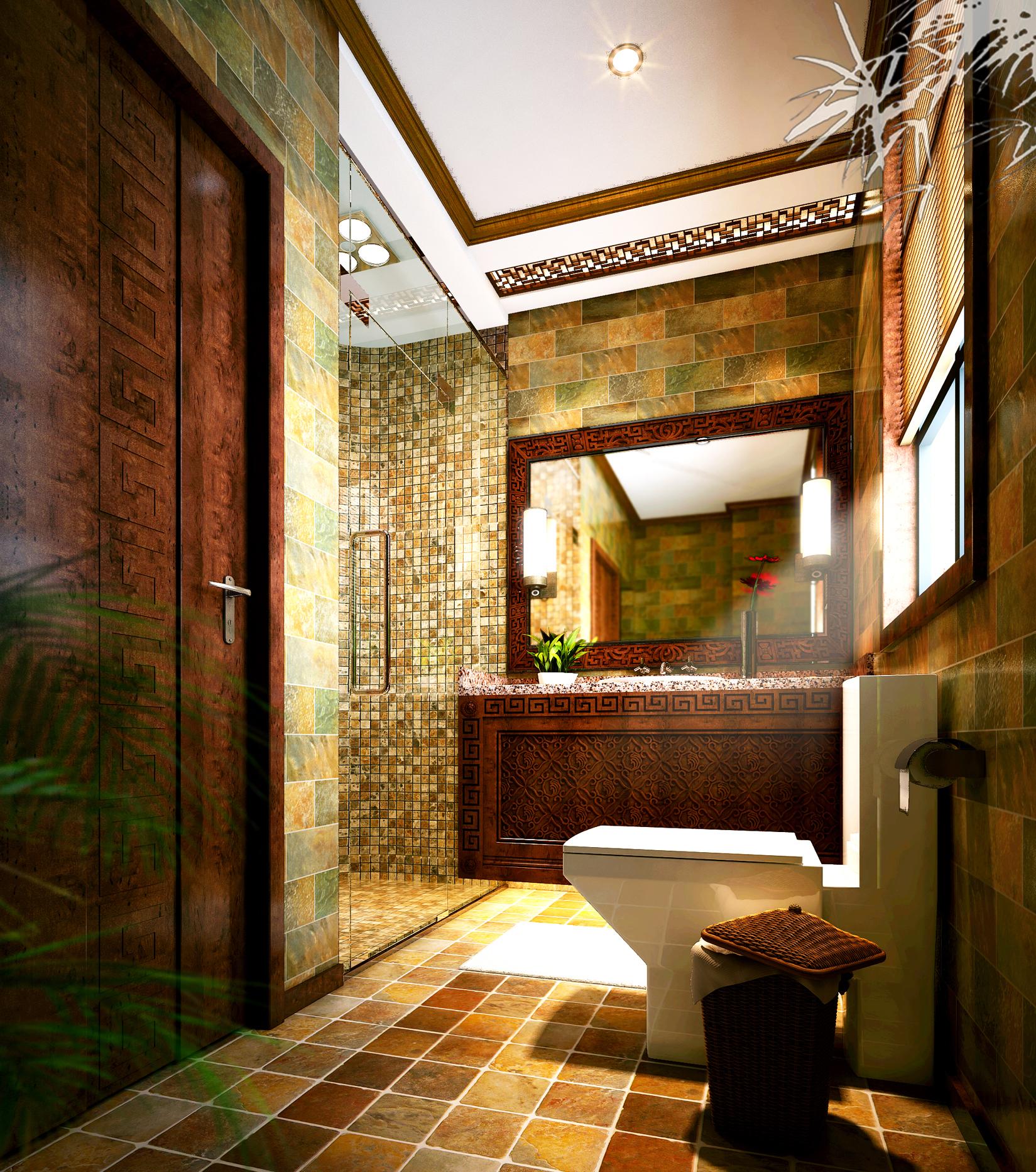 燕西华府别墅360平米中式禅意装修设计案例-业之峰汇