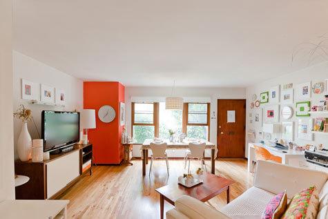 经典美式风格家居 挂满画的小房子