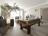 120平素雅自由设计三室两厅