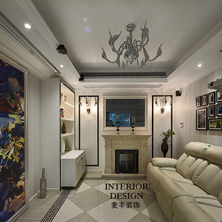东润枫华 ――195�O法式新古典三室二厅