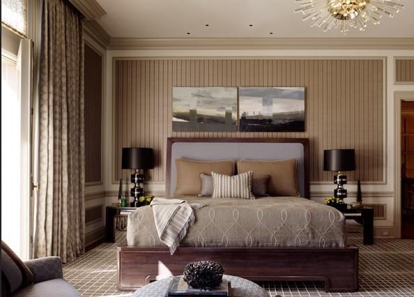 美式风格质感一居室装修效果图