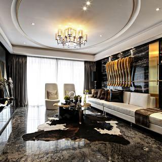 万科金域蓝湾四室两厅优雅空间