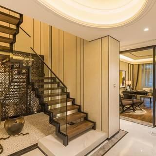 别墅风格楼梯装修效果图大全2015图片-搜狐家居品格
