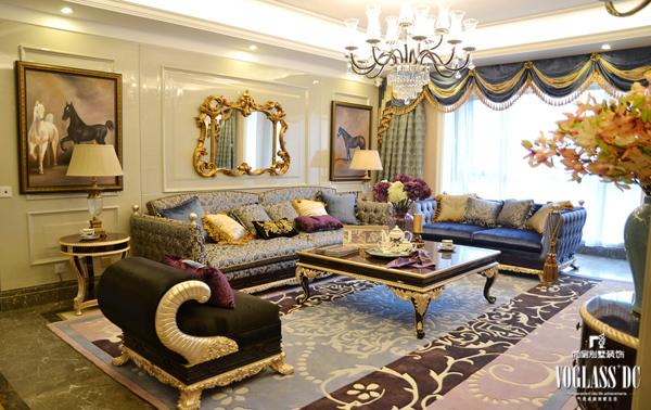 加州华府 奢华欧式宫廷别墅设计