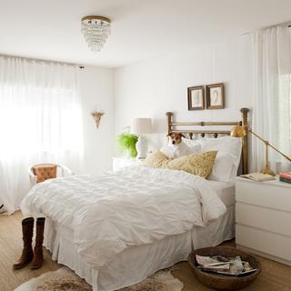 120-150平米风格白色卧室装修效果图大全2015图片