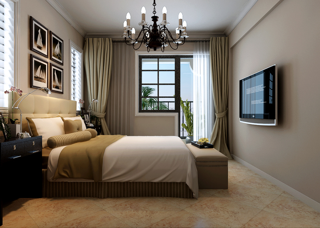 简约美式风格  美式风格,顾名思义是来自于美国的装修和装饰风格.