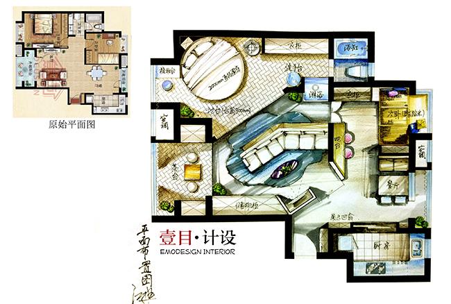 《壹目设计》设计师手绘练习-搜狐家居品格灵感频道