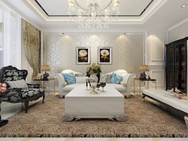 欧式新古典主义白色家居