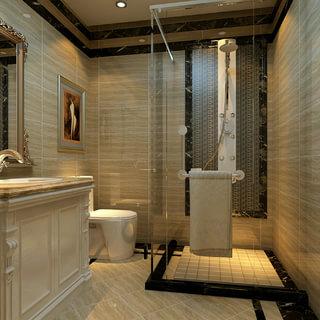 欧式古典风格卫浴间装修效果图大全2015图片-搜狐家居
