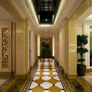 200平米以上欧式古典风格地面装修效果图大全2015