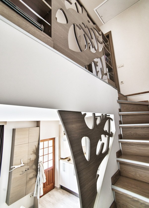 充满活力的100平简约公寓设计装修效果图    年轻夫妇最佳选择
