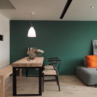 用减法扩大空间 90平老房变北欧新家