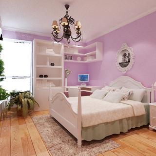 二居现代风格紫色装修效果图大全2015图片-搜狐家居