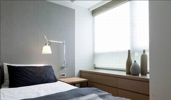 细腻的日式风格一居室装修效果图