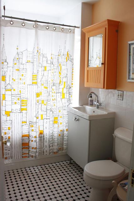 独特创意收纳 一家三口的混搭温情公寓装修效果图