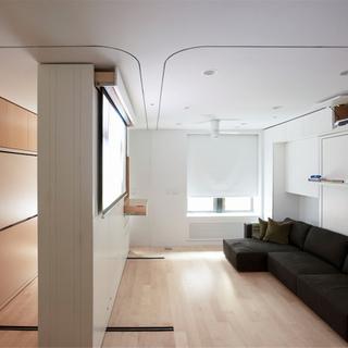 纽约39平米的百变公寓