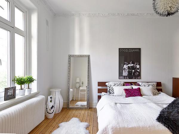 75平米现代通透明亮阳光两居室装修效果图