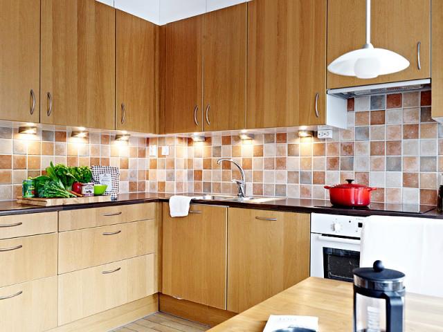 厨房地柜设计图