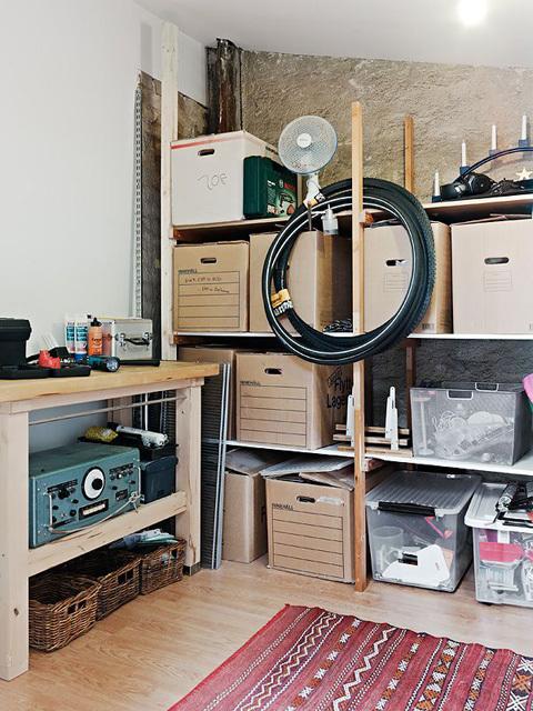 单身男士阁楼欧式一居室装修效果图
