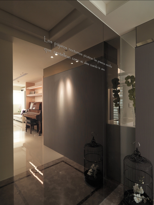 唯美简约的三居室装修效果图