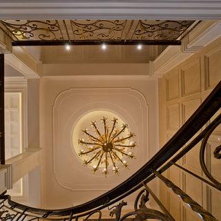 别墅欧式古典风格金色吊顶装修效果图大全2015图片