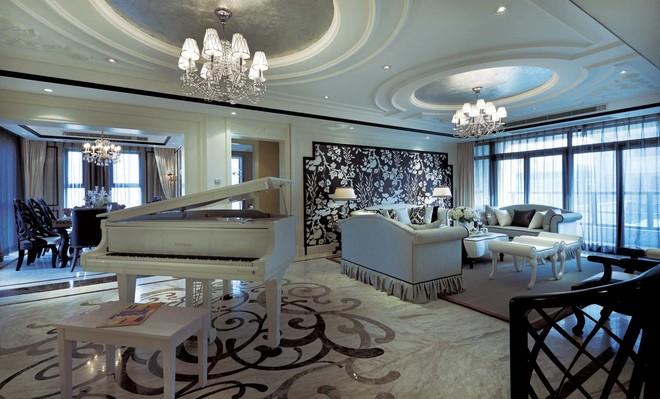新古典风格别墅设计实景样板间图片