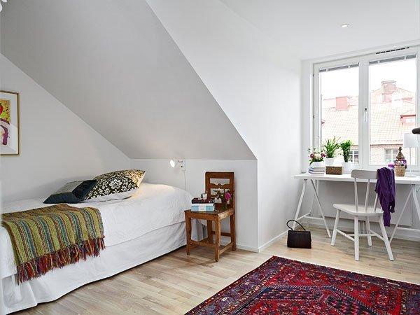 92平异形空间 阁楼房创意设计