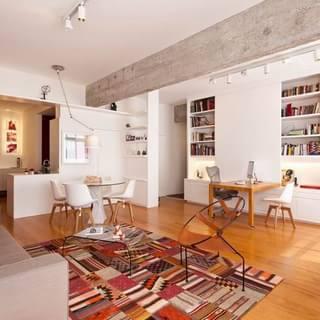 充满艺术气息和活力的现代一居室