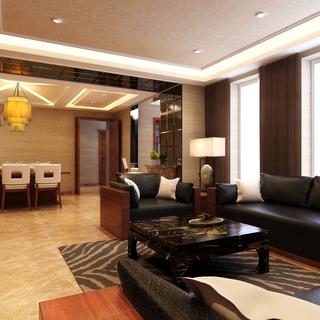 现代中式四室两厅孙莎莎案例展示