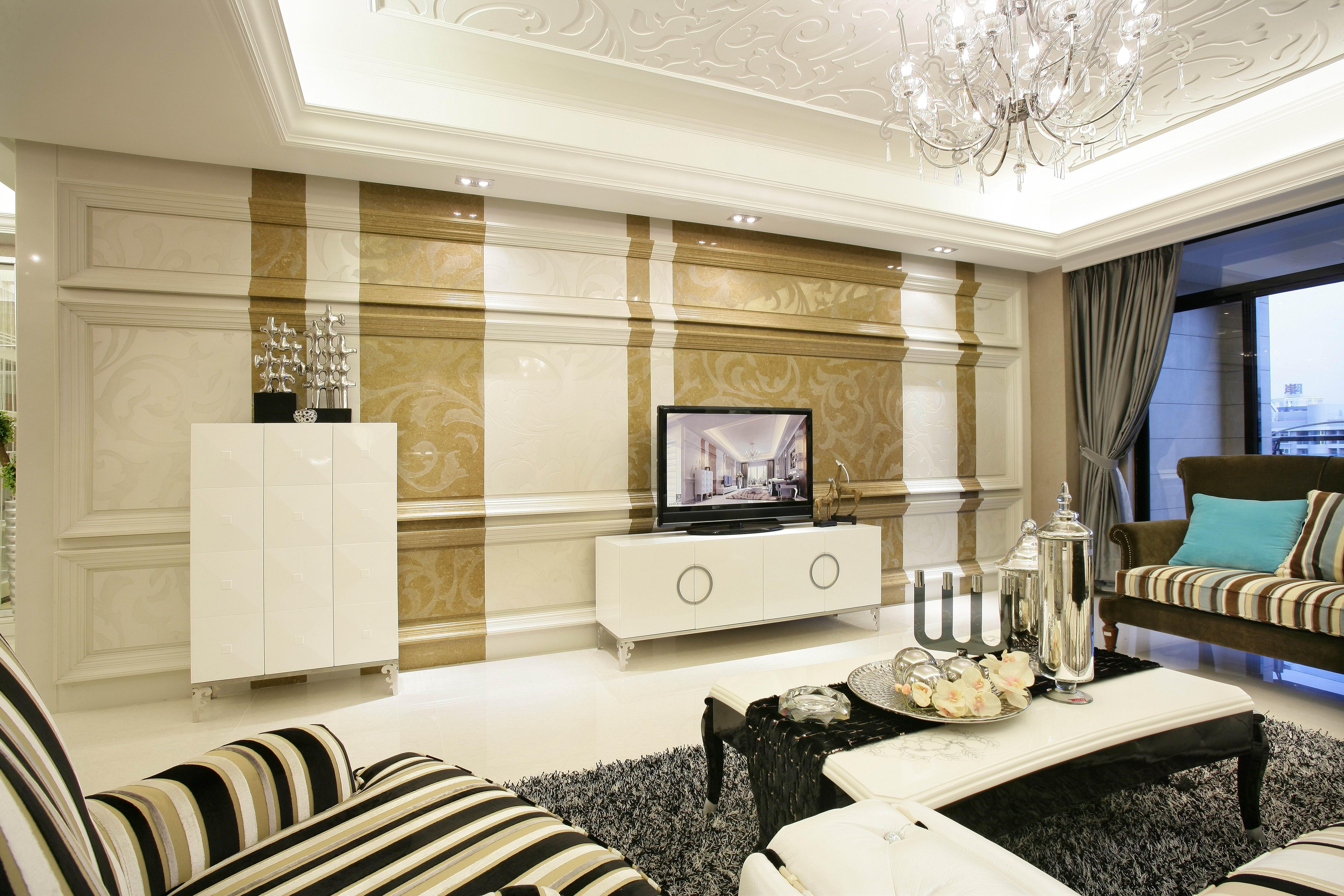 上海红缇半岛简欧风格装修案例赏析---尚层上海别墅装修