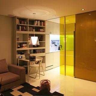 葡萄牙Closet住宅 44平小空间大设计