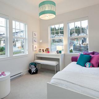 80-100平米三居现代风格白色装修效果图大全2015图片