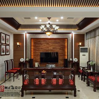 江苏常熟沙家浜独栋别墅400�O现代中式风格实景展示