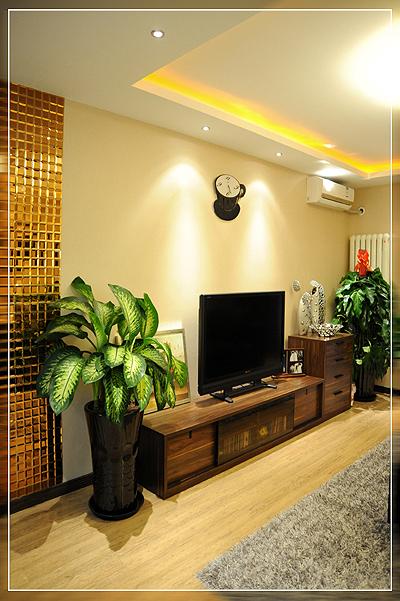 暖色电视墙效果图大全