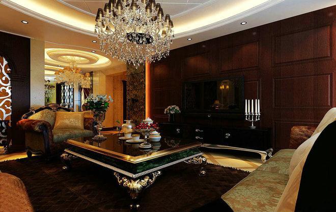高贵而不失典雅的欧式古典别墅设计