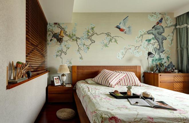 东南亚风格 129平米 实景作品 书香绿苑
