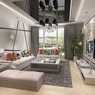 688大包保利春天里170平5居室-现代简约风格