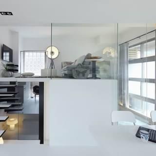 斤斤计较的空间 台北小户型居室
