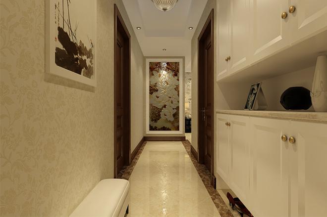 2走廊地砖铺贴效果图-地砖走廊造型效果图