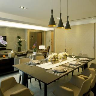 简洁气质三居室 品味生活的具体呈现