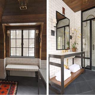 简约单身公寓完美变身美式豪宅图片