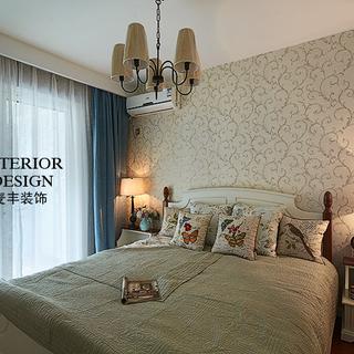 昆仑天籁 ――89平米现代美式三室一厅