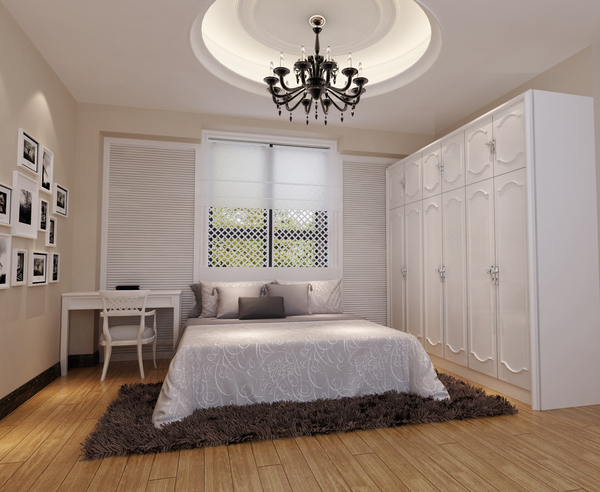欧式清新风格一居室装修效果图