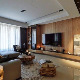 北欧风格电视背景墙装修效果图大全2015图片-搜狐家居