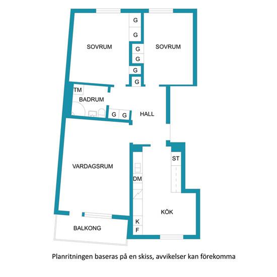 75平米清新简约原木色日式公寓装修效果图